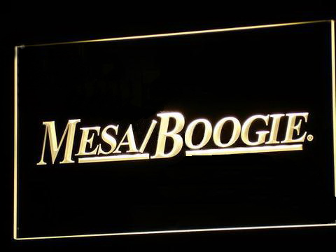 Mesa Boogie LED Neon Sign
