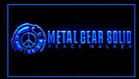 Metal Gear Solid Peace Walker LED Neon Sign