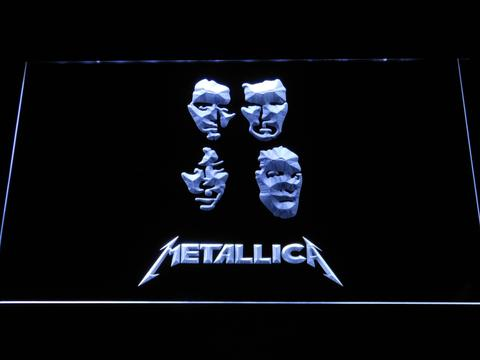 Metallica Faces LED Neon Sign