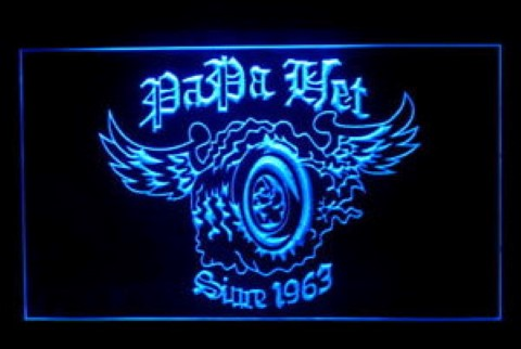 Metallica Papa Het LED Neon Sign
