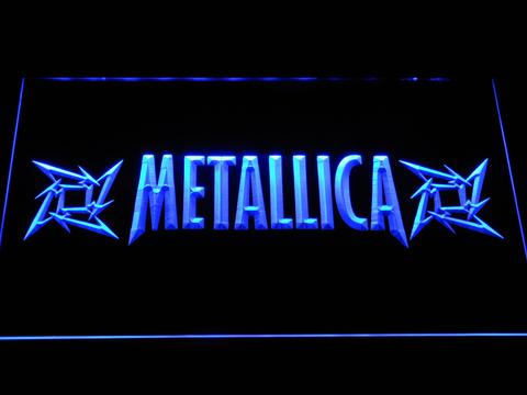 Metallica Stars LED Neon Sign