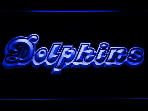Miami Dolphins 1980-1996 LED Neon Sign