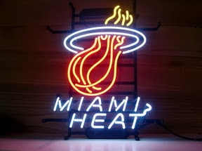 Miami Heat Classic Neon Light Sign 17 x 14