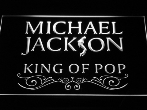 Michael Jackson King of Pop Text LED Neon Sign