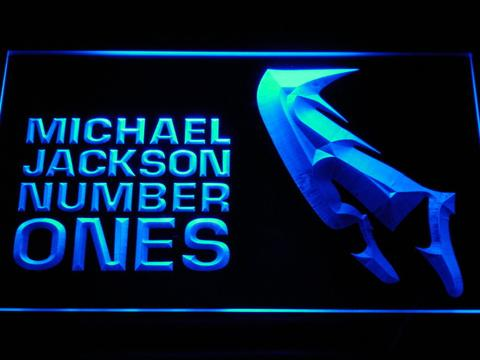Michael Jackson Number Ones LED Neon Sign