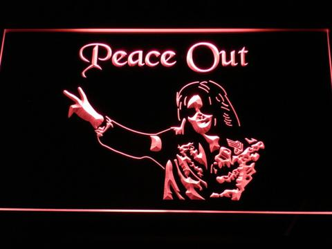 Michael Jackson Peace Out LED Neon Sign