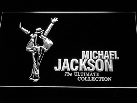 Michael Jackson Ultimate Collection LED Neon Sign