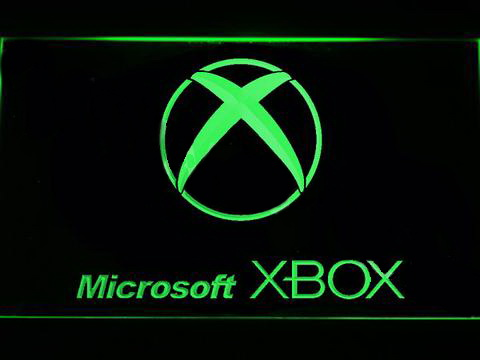 Microsoft XBOX LED Neon Sign