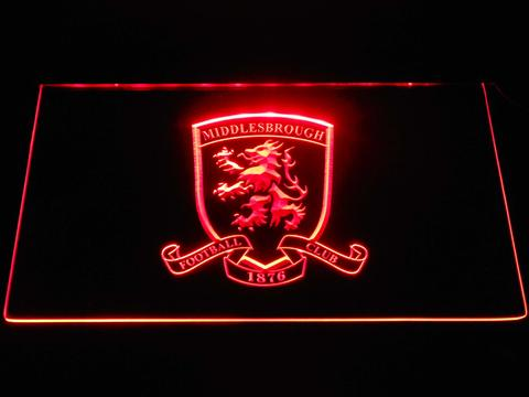 Middlesbrough Football Club Crest LED Neon Sign