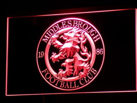 Middlesbrough Football Club LED Neon Sign
