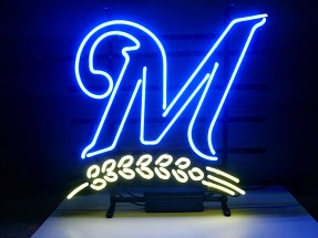 Miller Beer Blue Classic Neon Light Sign 17 x 14