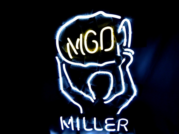 Miller Lite MGD Beer Bar Classic Neon Light Sign 16 x 11