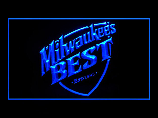 Milwaukee Best Beer Pub Neon Sign