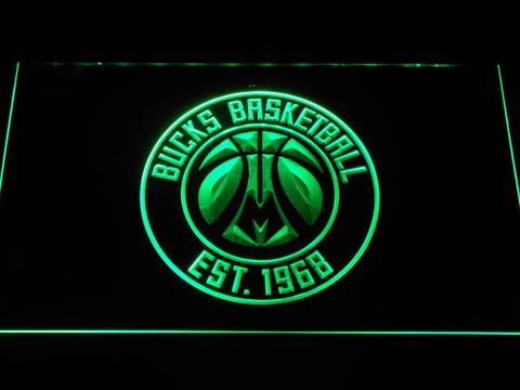 Milwaukee Bucks Badge LED Neon Sign