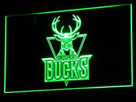 Milwaukee Bucks LED Neon Sign