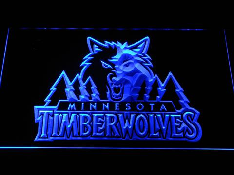 Minnesota Timberwolves LED Neon Sign