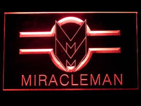 Miracleman For Game Room LED Neon Sign