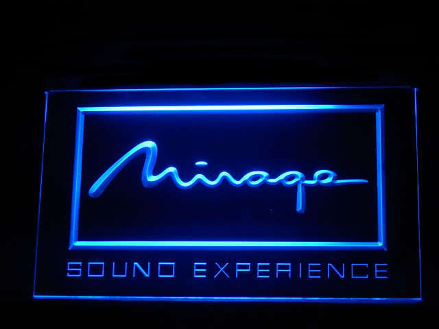 Mirage Loudspeaker LED Sign