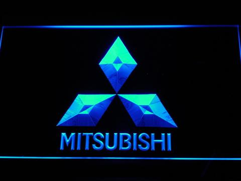 Mitsubishi LED Neon Sign