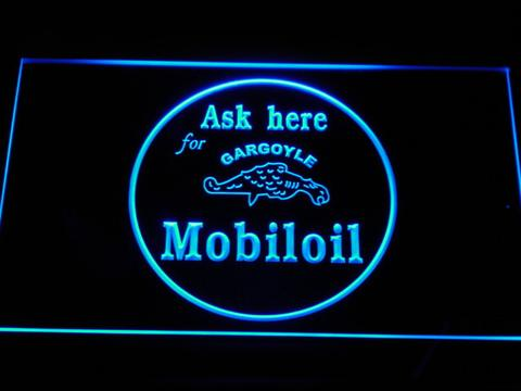 Mobiloil LED Neon Sign