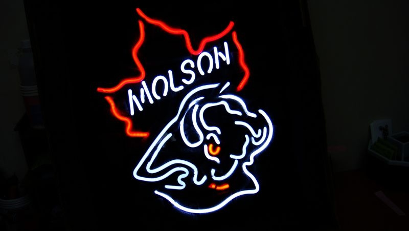 Molson Beer Logo Bar Classic Neon Light Sign 16 x 11
