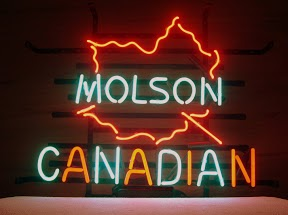 Molson Canadian Classic Neon Light Sign 17 x 14