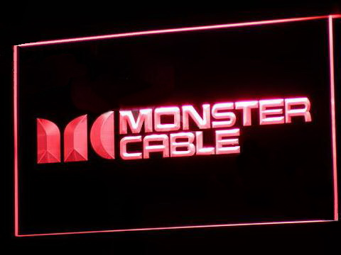 Monster Cable LED Neon Sign