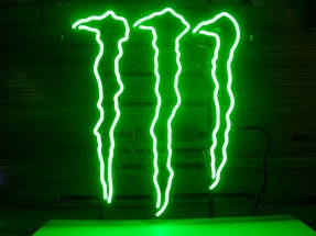 Monster Energy Drink Classic Neon Light Sign 17 x 14
