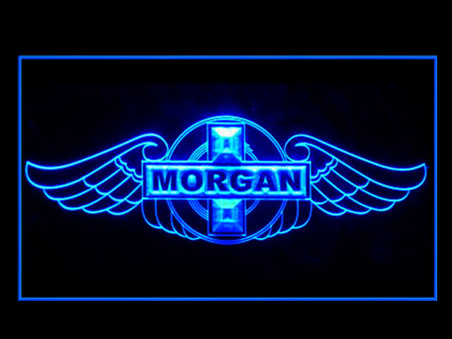 Morgan Motors LED Light Sign