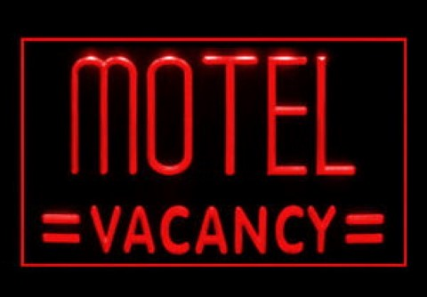 Motel Vacancy LED Neon Sign