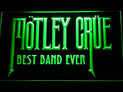 Motley Crue Best Band Ever LED Neon Sign
