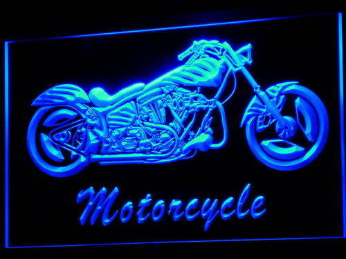 Motorcycle Bike LED Light Sign