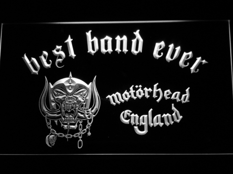 Motorhead Best Band Ever LED Neon Sign