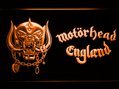 Motorhead England LED Neon Sign