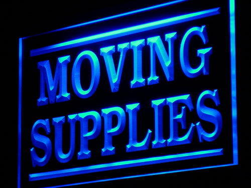 Moving Supplies Display Wholesale neon Sign