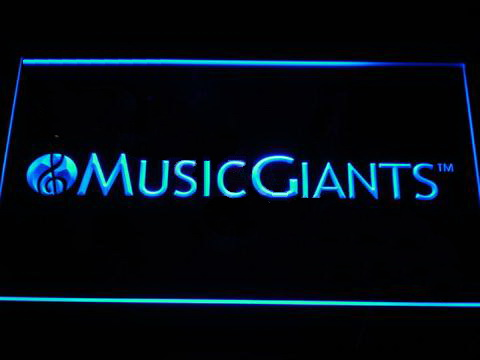 Music Giants LED Neon Sign