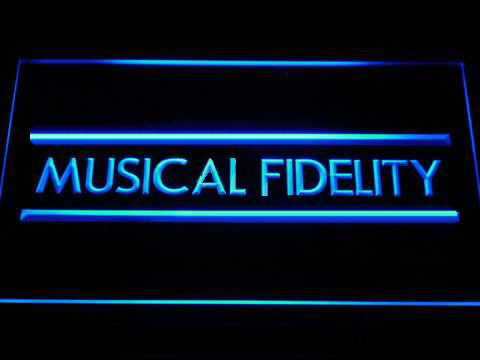 Musical Fidelity LED Neon Sign
