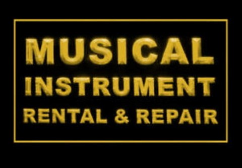 Musical Instrument Rental Repair LED Neon Sign