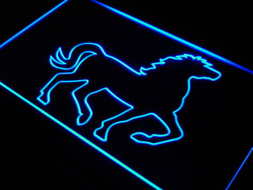 Mustang Horse Display Home Decor Neon Light Sign