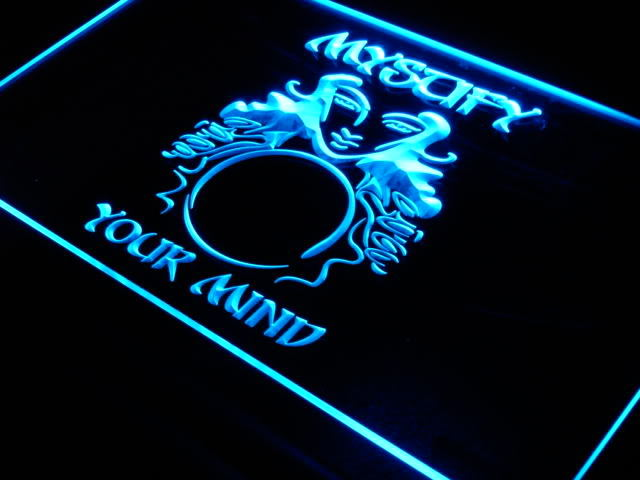 Mystify Your Mind Psychic Tarot Service LED Neon Sign