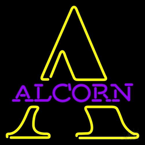 NCAA Alcorn State Braves Neon Light Sign 17 x 12