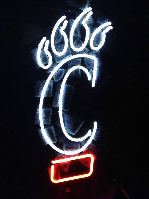 NCAA Cincinnati Bearcats Neon Light Sign 16 x 11