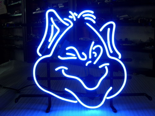 NCAA Saint Louis Billikens Basketball Neon Light Sign 17 x 15