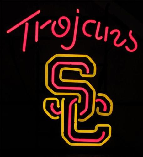NCAA USC Trojans Southern Cali Classic Neon Light Sign 18x13