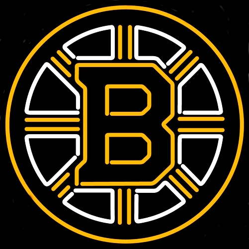 NHL Boston Bruins Classic Neon Light Sign 22 x 18