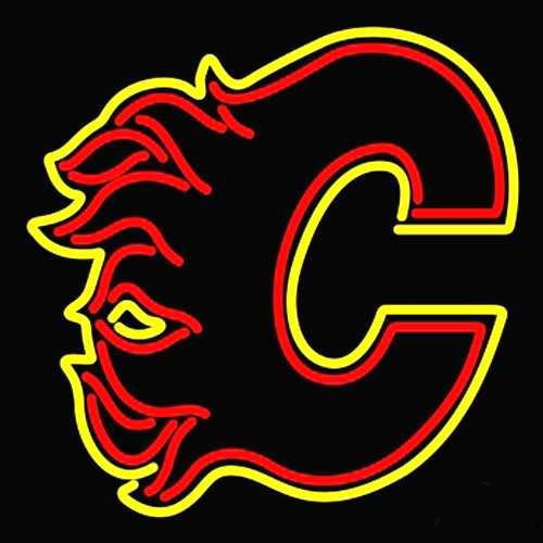 NHL Calgary Flames Neon Light Sign 16 x 14
