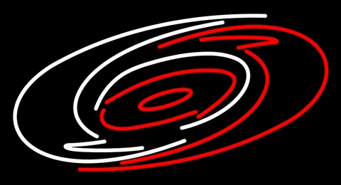NHL Carolina Hurricanes Neon Light Sign 16 x 14