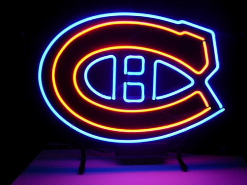 NHL Montreal Canadiens Hockey Neon Light Sign 17 x 14