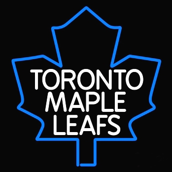 NHL Toronto Maple Leafs Blue Neon Light Sign 16 x 14