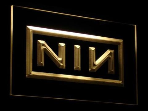 NIN Nine Inch Nail Rock n Roll LED Neon Sign
